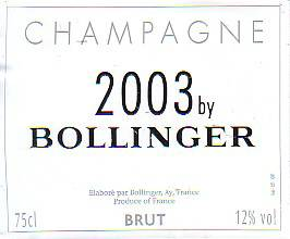 2003 By Bollinger