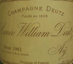 William Deutz rosé