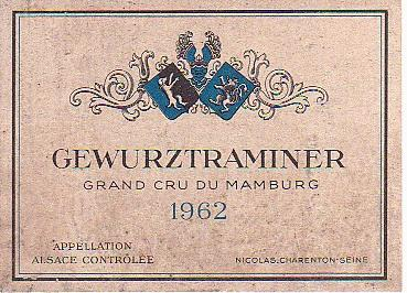 Grand cru du Mamburg