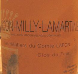 Macon Milly Lamartine Clos du Four
